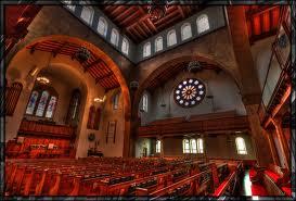 First Prsb. church tac, inside