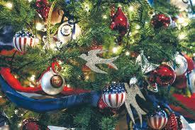 military Christmas trees