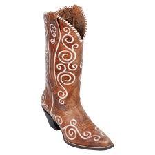 cowgirl boots, swirls