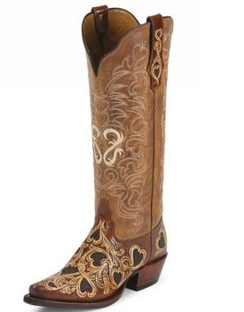 heart boots