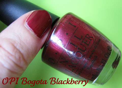 OPI-Bogota-Blackberry bottle