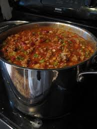 15 bean chili soup cooking
