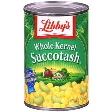 canned succotash