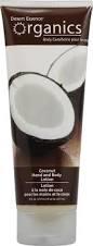 coconut lotion