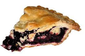 blackberry pie slice