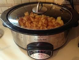 crock pot apple sauce