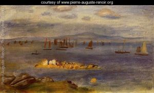 The-Coast-Of-Brittany--Fishing-Boats-large