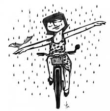 biking in the rain 2