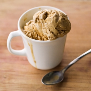 coffee and ice cream