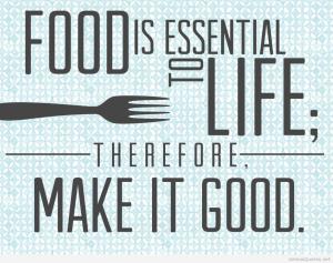 food is essential