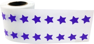 purple star sticker